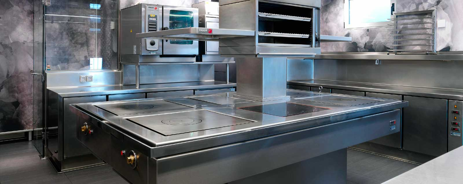 Cocina de Arzak Hosfrinor Equipamiento para la Restauración, Hostelería y Colectividades